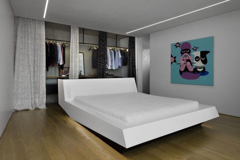 Спальня в стиле модерн (19)
