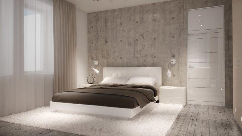 Спальня в стиле модерн (20)