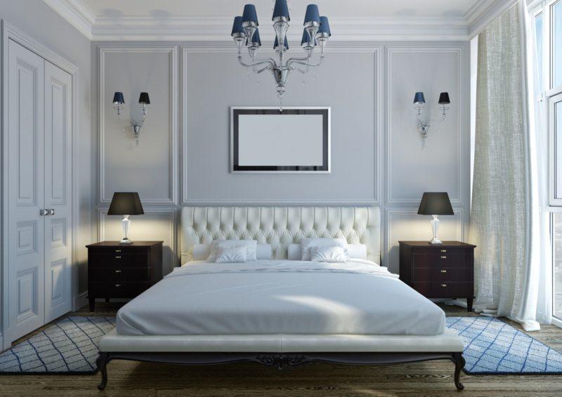 Спальня в стиле модерн (23)