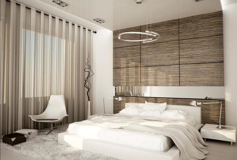 Спальня в стиле модерн (26)