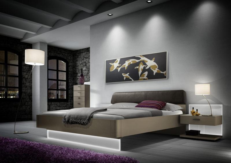 Спальня в стиле модерн (27)