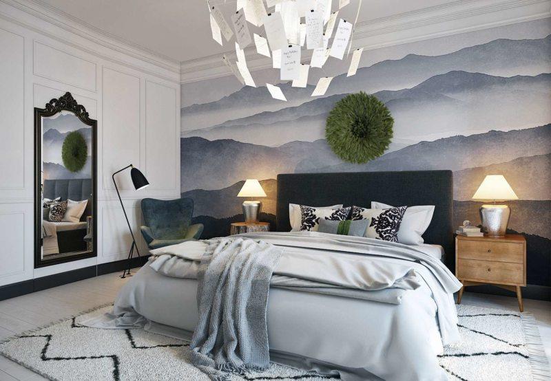 Спальня в стиле модерн (28)