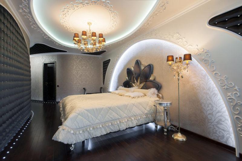Спальня в стиле модерн (6)