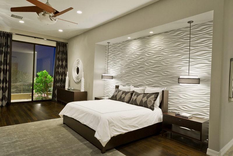 Спальня в стиле модерн (7)