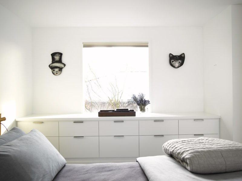 Спальня в стиле модерн (9)