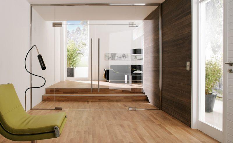 Стеклянные двери в интерьере (1)