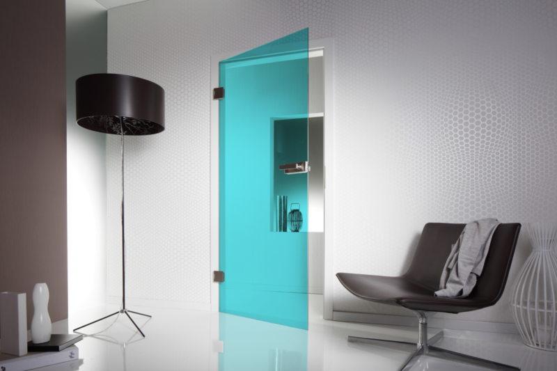 Стеклянные двери в интерьере (2)