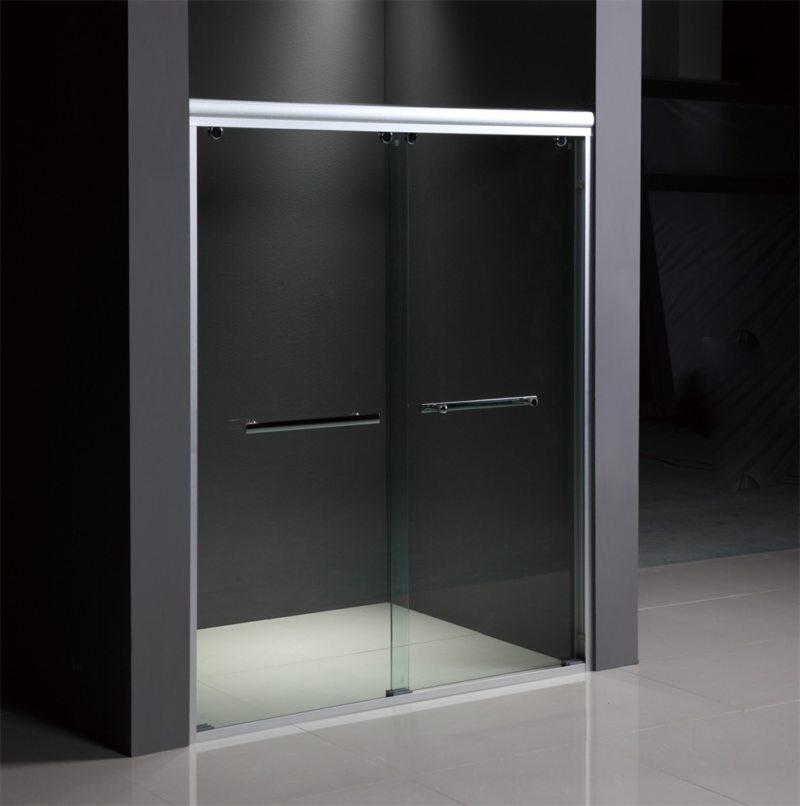Стеклянные двери в интерьере (22)