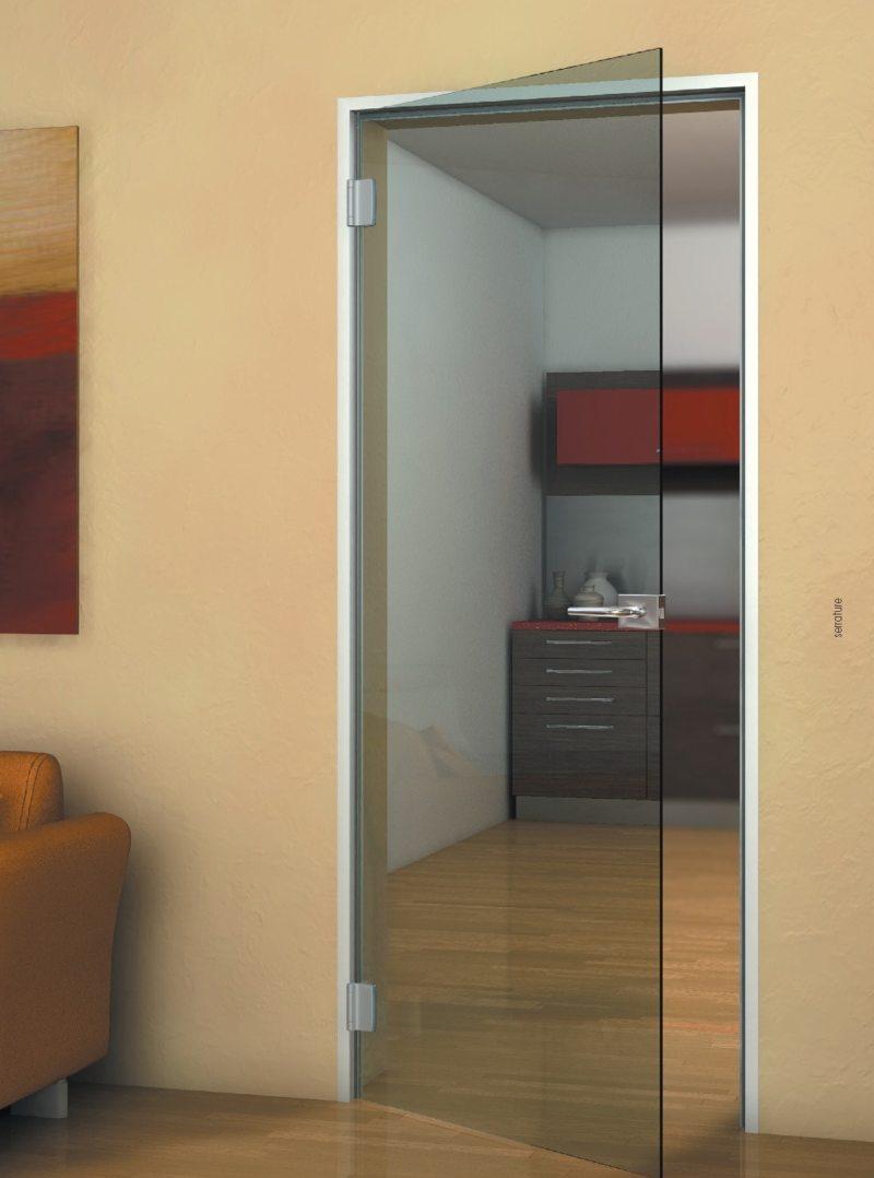 Стеклянные двери в интерьере (25)