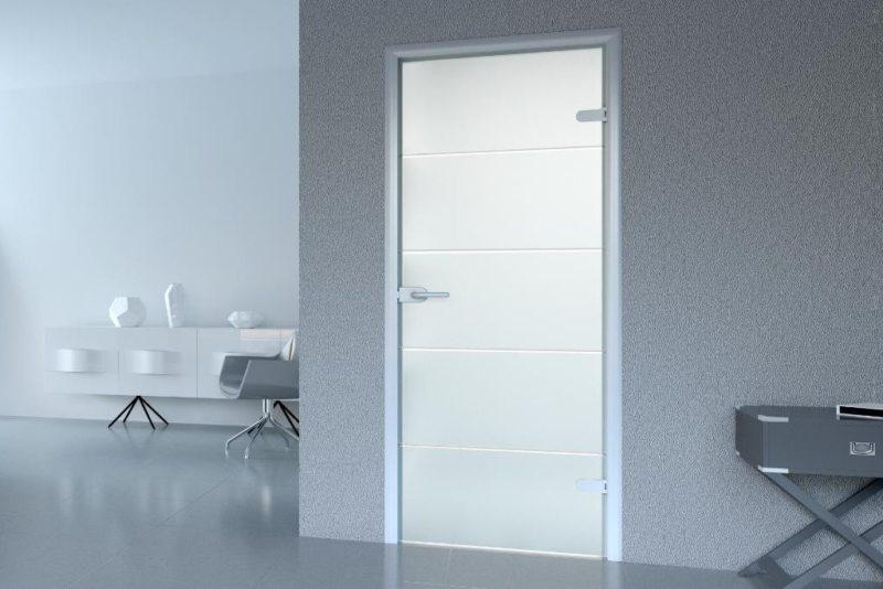 Стеклянные двери в интерьере (43)