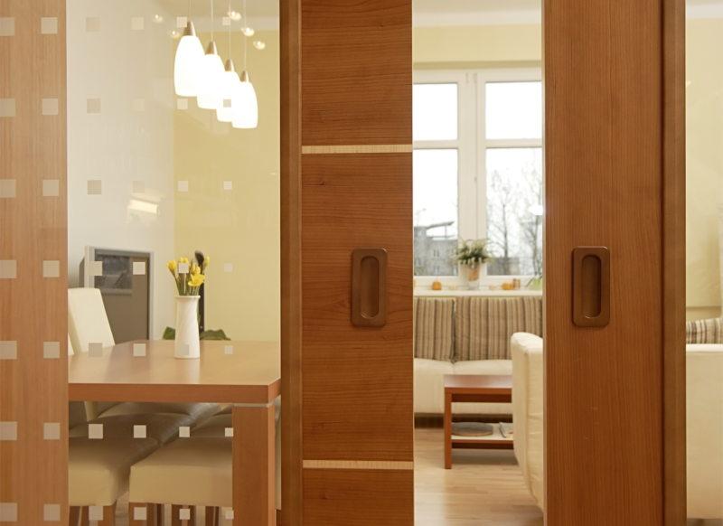 Стеклянные двери в интерьере (46)