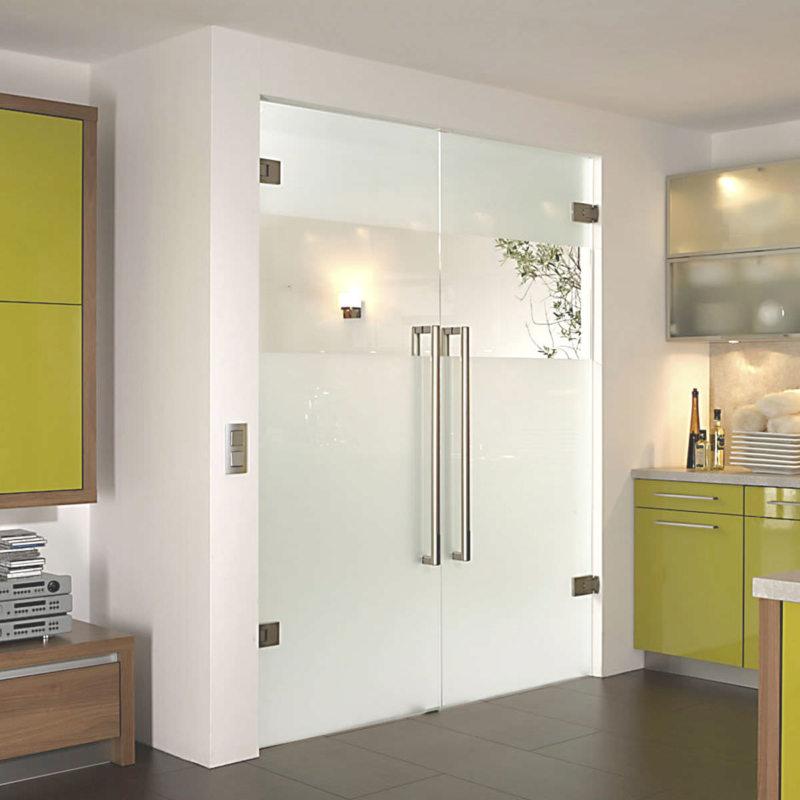 Стеклянные двери в интерьере (5)