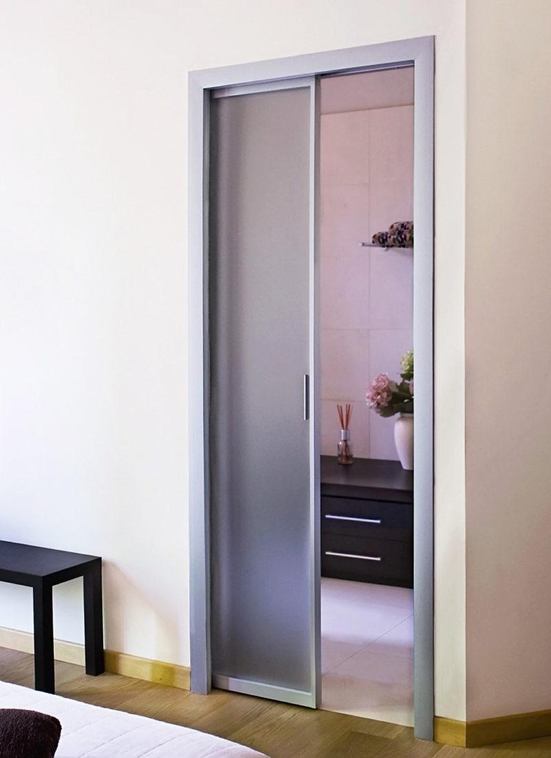Стеклянные двери в интерьере (51)