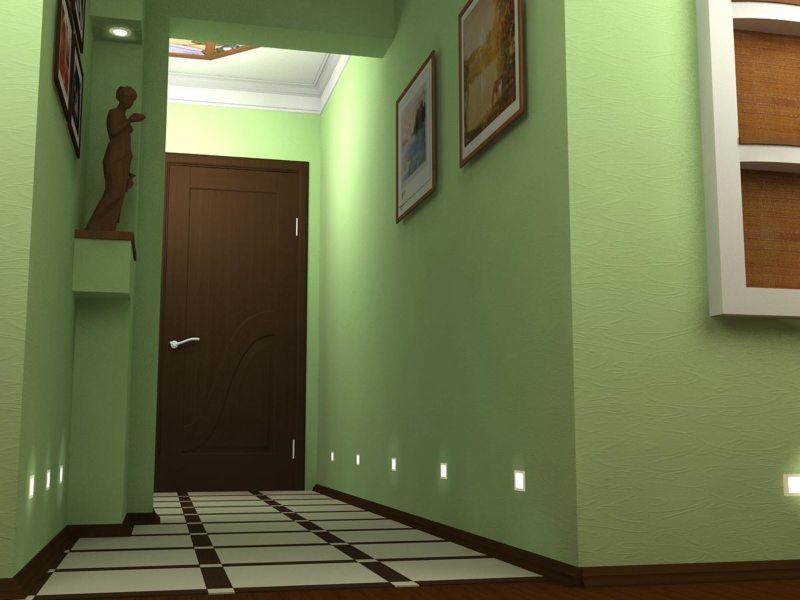 Стены в прихожей (59)