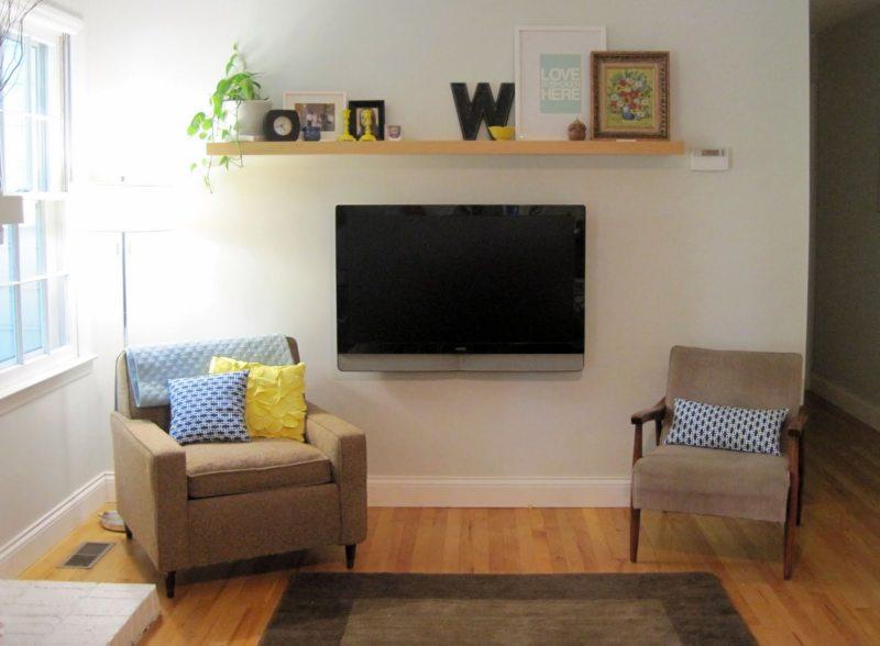 Телевизор в гостиной (11)