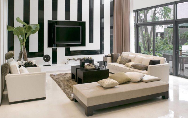 Телевизор в гостиной (13)