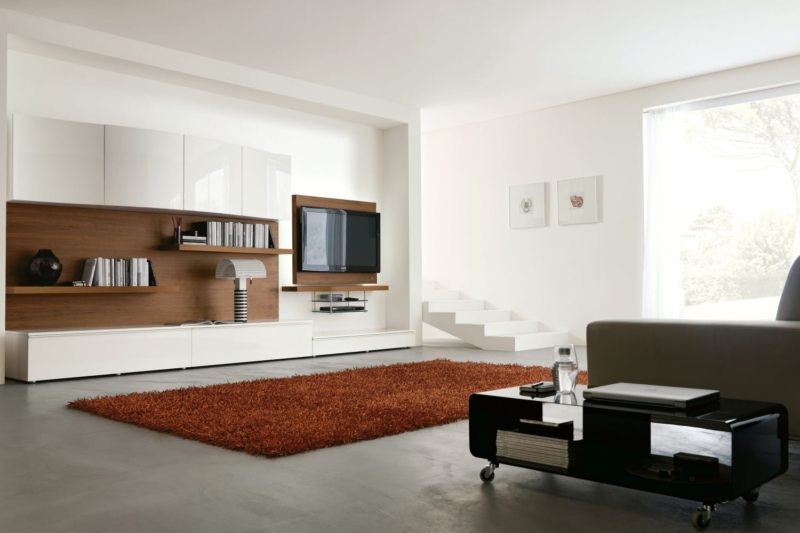 Телевизор в гостиной (16)