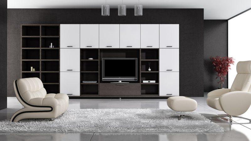 Телевизор в гостиной (17)