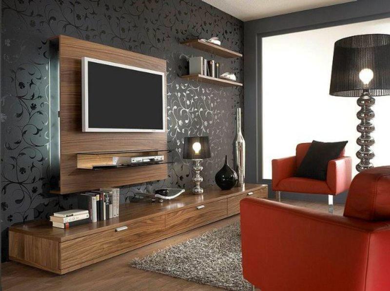Телевизор в гостиной (18)