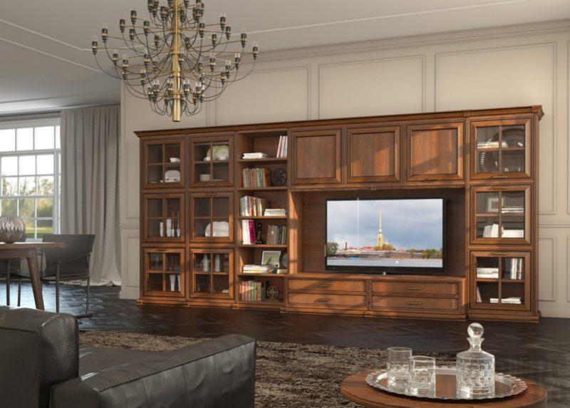 Телевизор в гостиной (29)