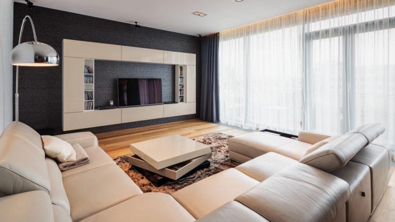 Телевизор в гостиной (31)