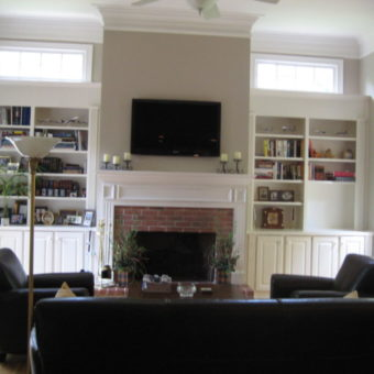 Телевизор в гостиной (32)