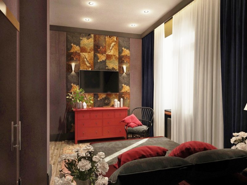 Телевизор в гостиной (33)