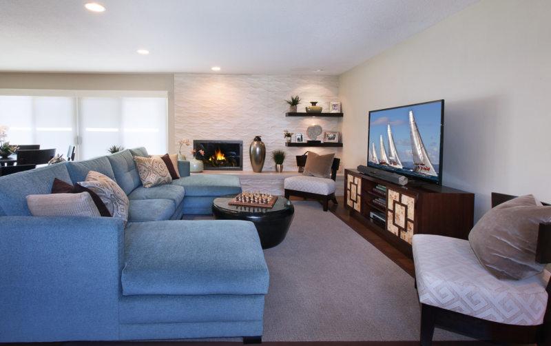 Телевизор в гостиной (35)