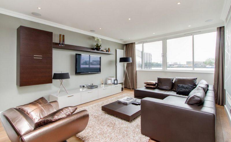 Телевизор в гостиной (7)