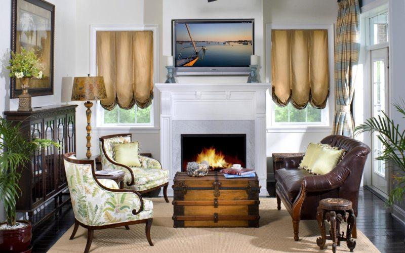 Телевизор в гостиной (8)