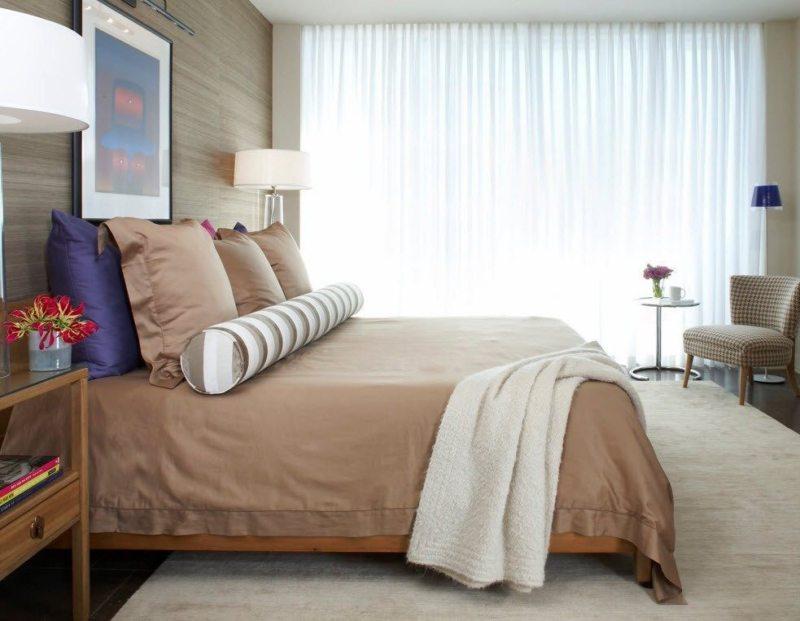 Тюль в спальню (14)