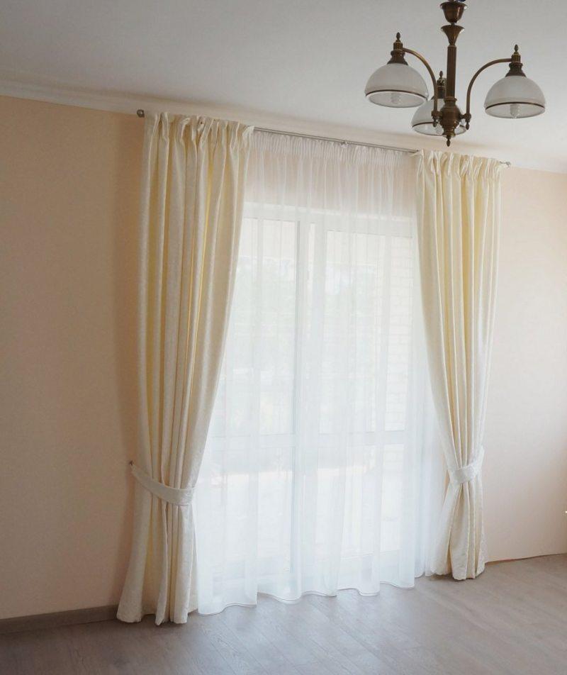 Тюль в спальню (2)