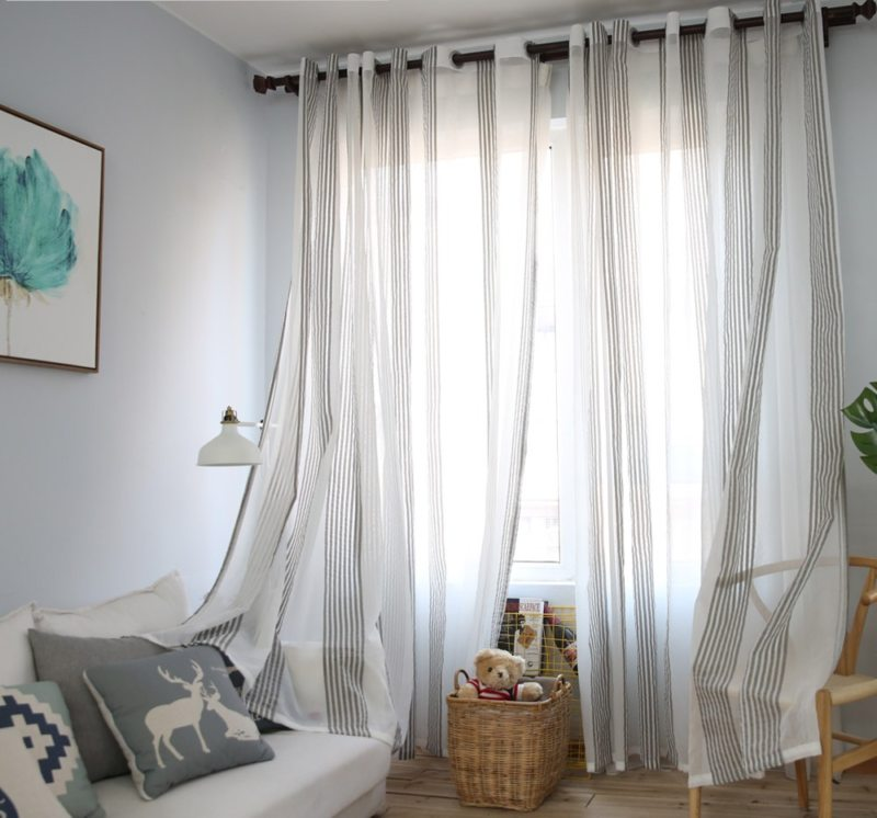 Тюль в спальню (39)