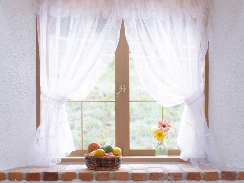 Тюль в спальню (47)