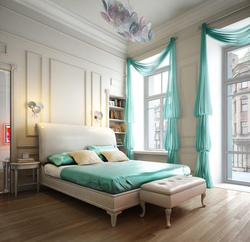 Тюль в спальню (5)