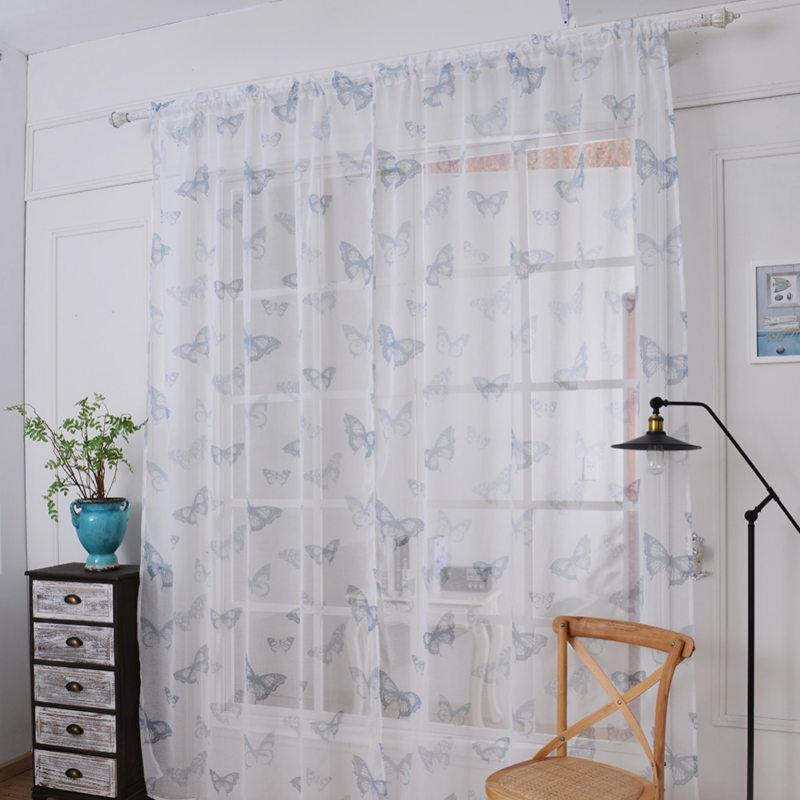 Тюль в спальню (66)
