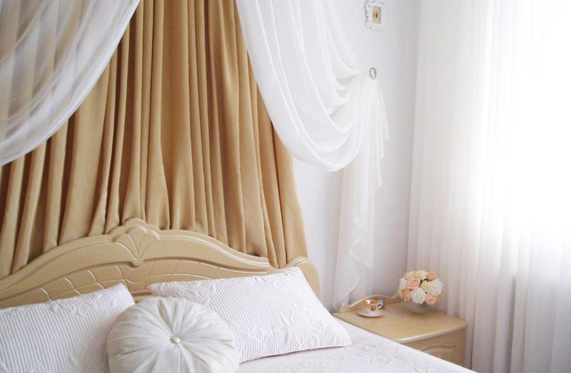 Тюль в спальню (9)