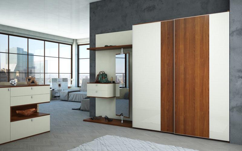 Встроенный шкаф в прихожую (11)