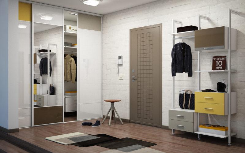 Встроенный шкаф в прихожую (13)