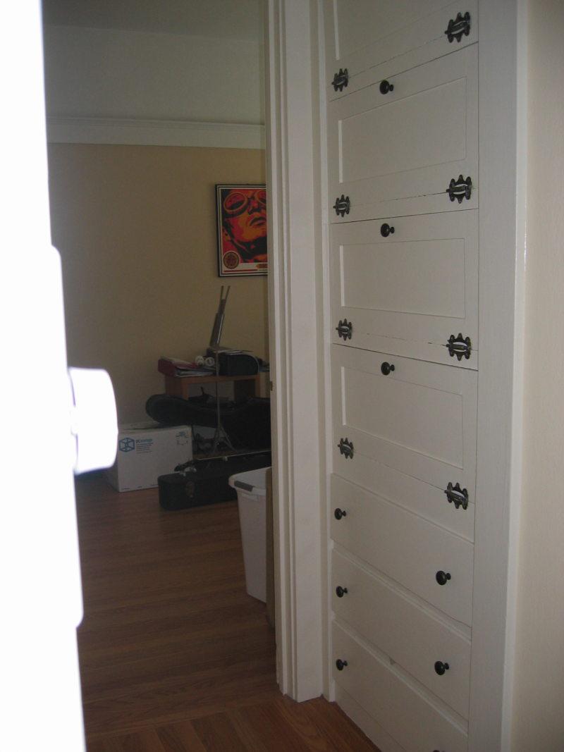 Встроенный шкаф в прихожую (31)