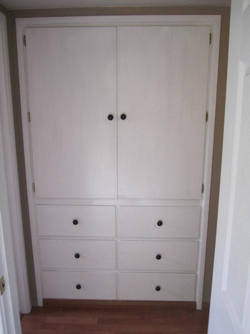 Встроенный шкаф в прихожую (35)