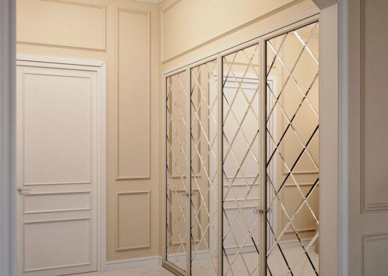 Встроенный шкаф в прихожую (42)