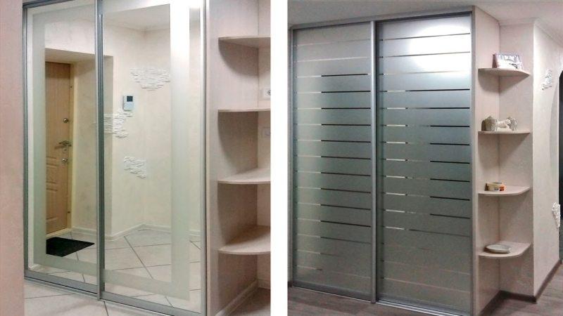Встроенный шкаф в прихожую (43)