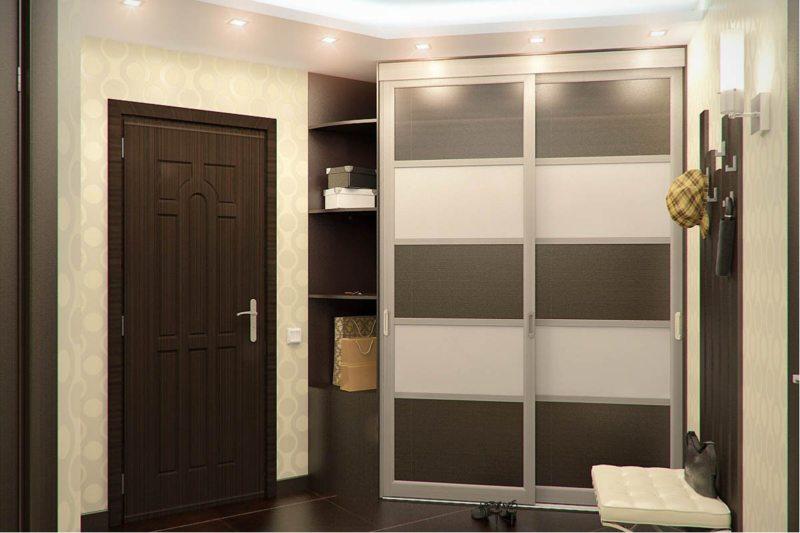 Встроенный шкаф в прихожую (55)