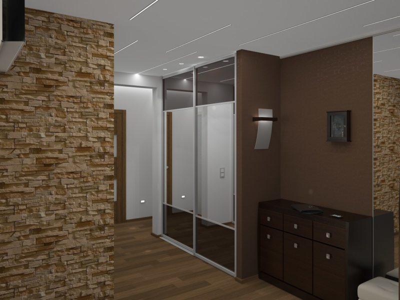 Встроенный шкаф в прихожую (56)