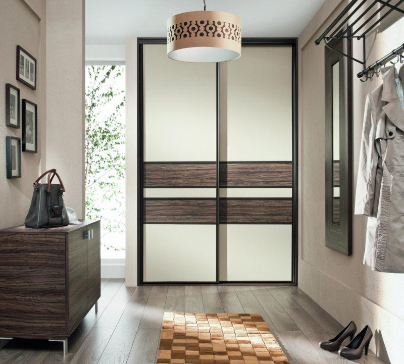 Встроенный шкаф в прихожую (61)