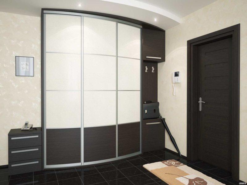 Встроенный шкаф в прихожую (62)