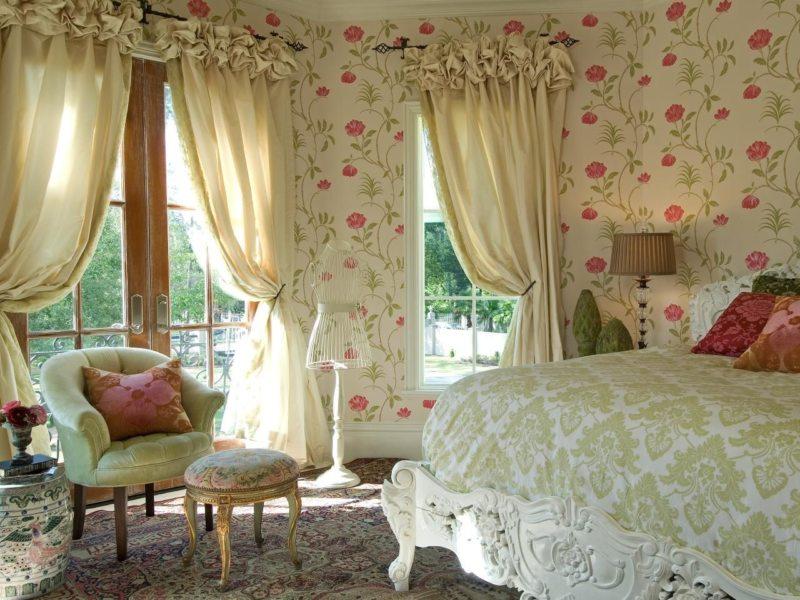 Занавески в спальню (10)
