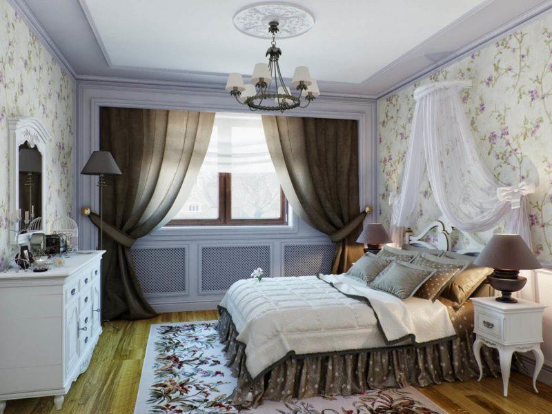 Занавески в спальню (29)