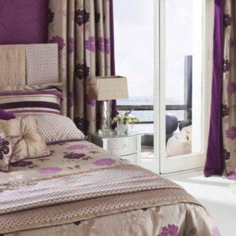 Занавески в спальню — фото современных занавесок 2017 года